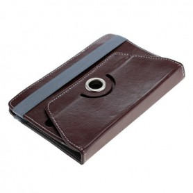 "OTB, 7"" Tablet PC Faux Leather Case Bookstyle, iPad and Tablets covers, ON3160-CB, EtronixCenter.com"