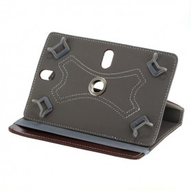 "OTB - 7\""Tablet PC Kunstleer Case Bookstyl Klitteband - iPad en Tablets beschermhoezen - ON3160-C www.NedRo.nl"