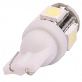 NedRo - LED T10 5 SMD Wedge Car License Plate Light Bulbs AL692 - Autoverlichting - AL692 www.NedRo.nl