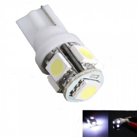 NedRo, 2 Pieces T10 5 SMD LED Car License Plate Light Bulbs, Car lightning, AL692