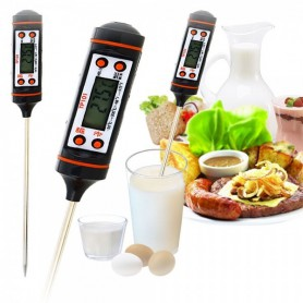 NedRo - -50-300 degrees High Quality Digital Kitchen Thermometer AL013 - Test equipment - AL013 www.NedRo.us