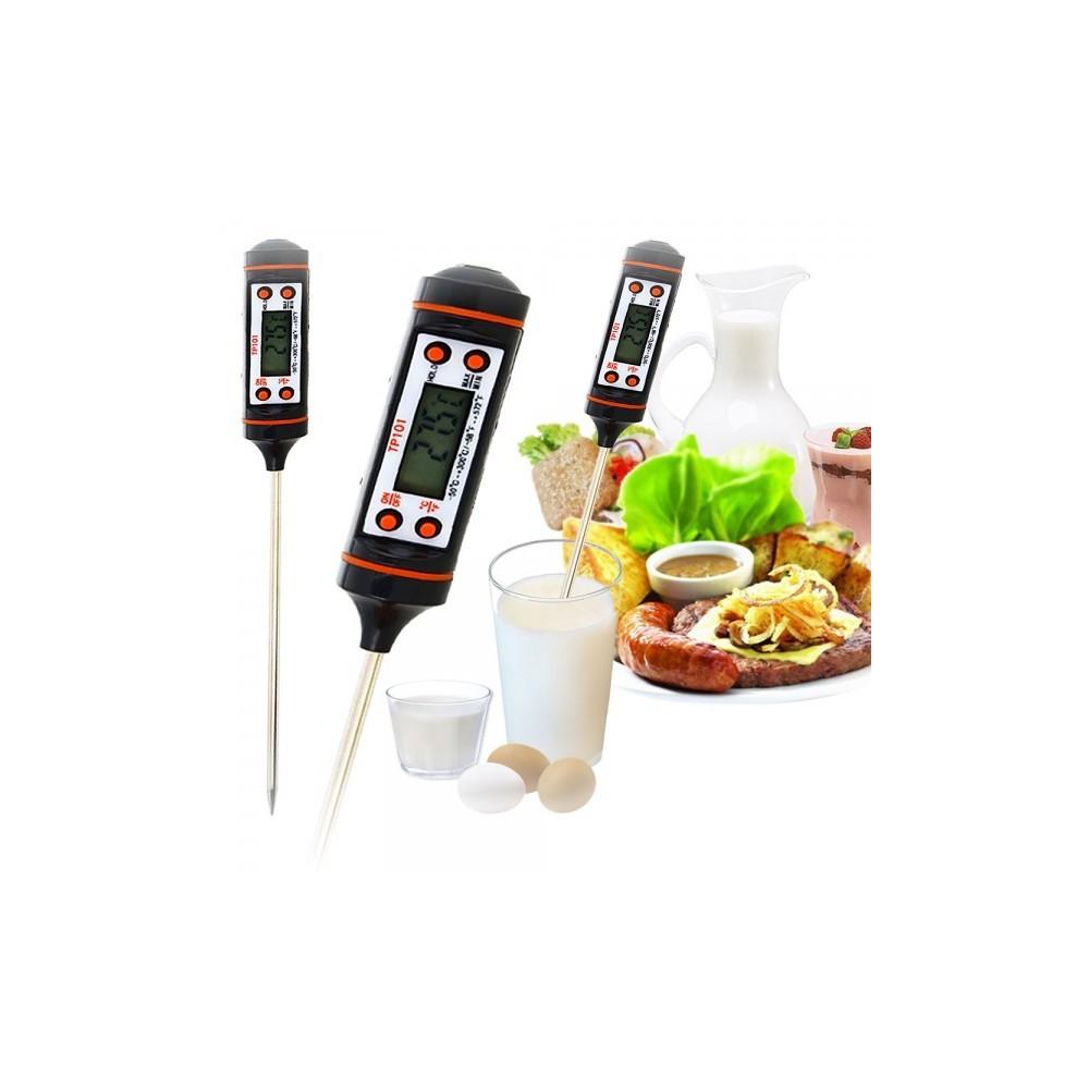 NedRo - -50-300 graden Digitale Voedselthermometer Thermometer AL013 - Testapparatuur - AL013 www.NedRo.nl