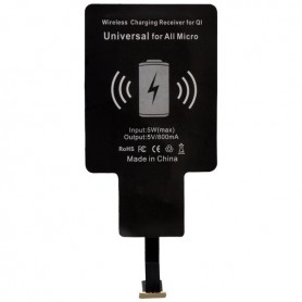 Peter Jäckel - Qi Draadloze oplader adapter voor Micro-USB telefoons - Draadloze laders - ON3430 www.NedRo.nl