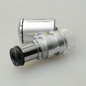 NedRo - 8MM 60x Zoom microscoop loep loeplens - Loepen en Microscopen - AL987 www.NedRo.nl