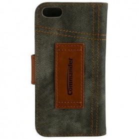 Commander - COMMANDER Bookstyle case for Apple iPhone 5 / 5S / SE - iPhone phone cases - ON3471-C www.NedRo.us