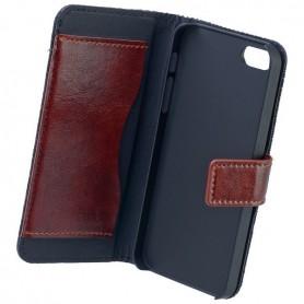 Commander - Commander Book Case voor Apple iPhone 5 / 5S / SE - iPhone telefoonhoesjes - ON3550-C www.NedRo.nl