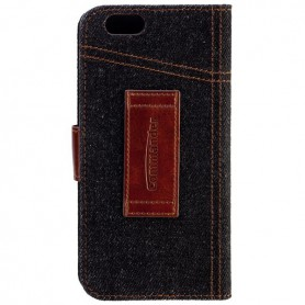 Commander, Commander Book Case Elite Jeans voor Apple iPhone 6, iPhone telefoonhoesjes, ON3551, EtronixCenter.com