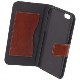 Commander - COMMANDER Husa telefon bookstyle jeans pentru Apple iPhone 6 - iPhone huse telefon - ON3551-C www.NedRo.ro