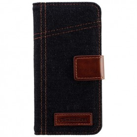 Commander - Commander Book Case Elite Jeans voor Apple iPhone 6 - iPhone telefoonhoesjes - ON3552 www.NedRo.nl