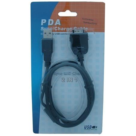 NedRo, PDA Cable USB Hotsync Toshiba E310 E330 E335 E355 E570, E740, E750, E755 P055, PDA data cables, P055