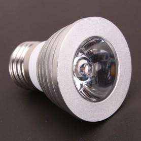 Oem - E27 4W 16 Color Dimmable LED Bulb with Remote Control - E27 LED - AL131-CB