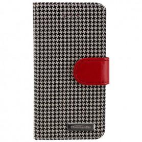 Commander - Commander book case pepita for Apple iPhone 5 / 5S / SE - iPhone phone cases - ON3591-C www.NedRo.us