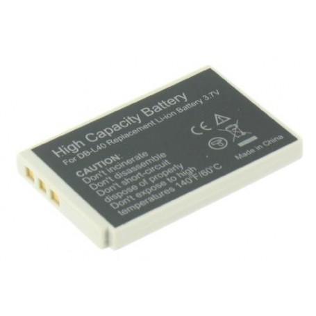 Oem - Battery compatible with Sanyo DB-L40 DBL40 DBL-40 - Sanyo photo-video batteries - GX-V119
