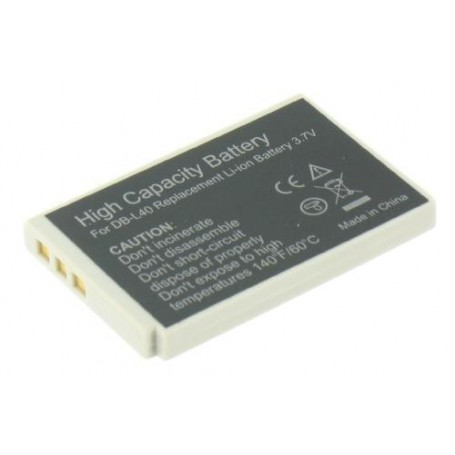 unbranded, Battery compatible with Sanyo DB-L40 DBL40 DBL-40, Sanyo photo-video batteries, GX-V119