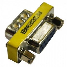 RS232 Serial 9 Pin Male to Female Changer Adapter Converter WW81007646