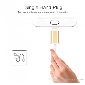 NedRo, Magnetische micro USB kabel, Samsung datakabels , CG008-CB, EtronixCenter.com