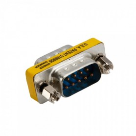 Serial RS232 9 Pin DB9 Male naar Male Adapter AL588