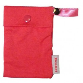Brallet Pink party, key, license, credit card cash holder 9132