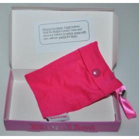 Bye Bra - Brallet Pink Party, sleutel, rijbewijs, credit card geld houder 9132 - Brallet - 9132 www.NedRo.nl