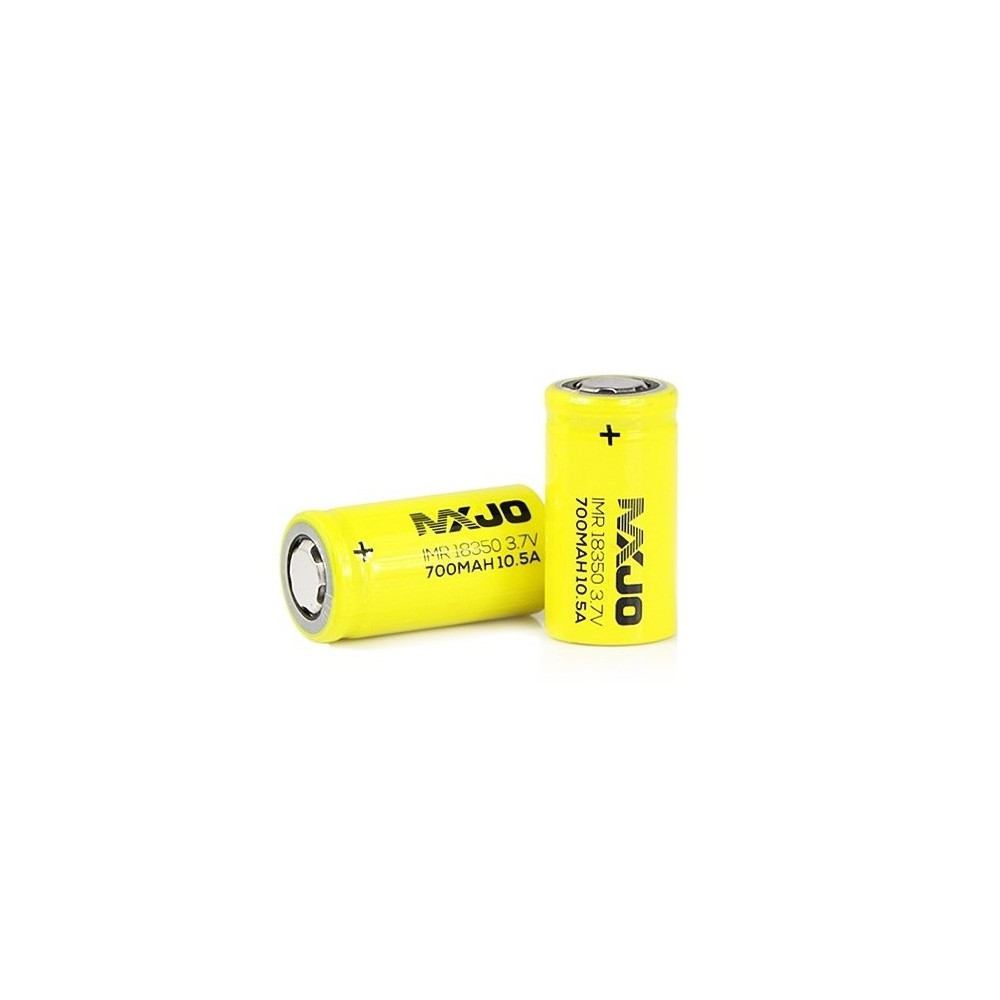 MXJO - MXJO IMR18350F 700mAh 10.5A Unprotected - Andere formaten - NK145 www.NedRo.nl