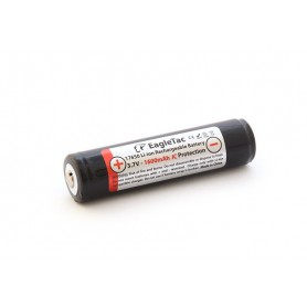 EagTac, EagleTac 17650 1600mAh 3A 3.7V (protected), Other formats, NK156-CB, EtronixCenter.com