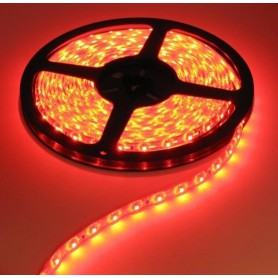 NedRo - Rood Led Strip 5M 60led 5050 AC 220V Waterbestendig AL277 - LED Strips - AL277 www.NedRo.nl