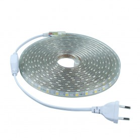 NedRo - Red Led Strip 5M 60led SMD5050 AC 220V Waterproof AL277 - Benzi cu LED-uri - AL277 www.NedRo.ro