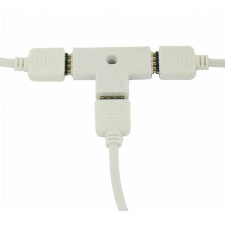 unbranded - RGB Splitter 3 Corners Connector AL316 - LED connectors - AL316