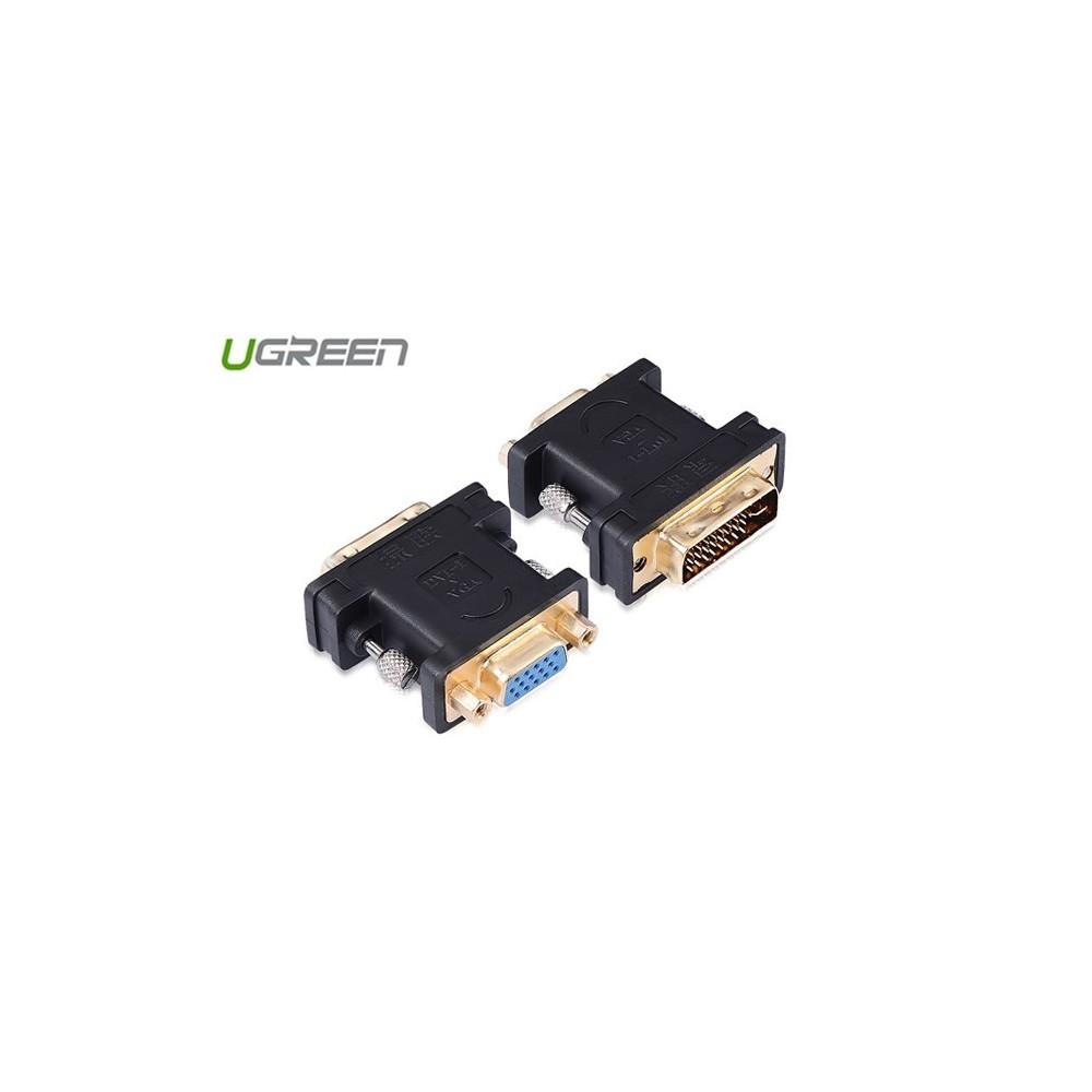 DVI (24+5) Male to VGA Female Adapter UG100