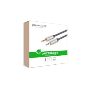 UGREEN - Professioneel 3.5mm stereo Aux Audio Jack kabel - Audio kabels - UG105-CB www.NedRo.nl