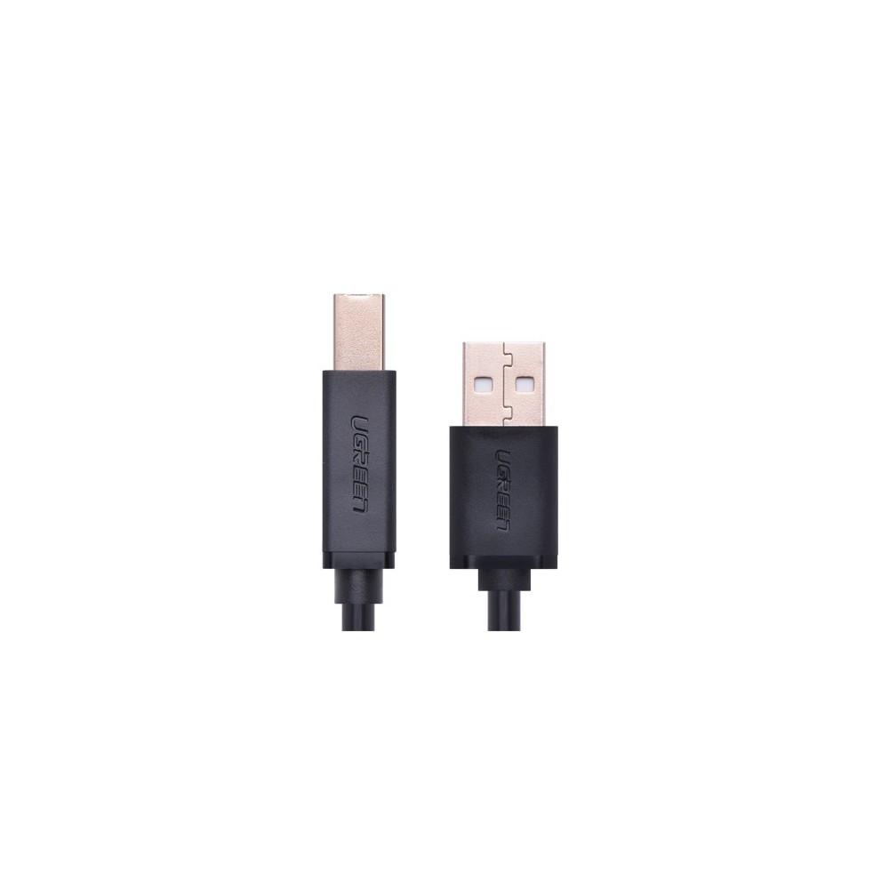 UGREEN - USB 2.0 AM to BM print cable gold-plated - Printer cables - UG120 www.NedRo.de