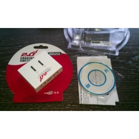 NedRo - USB A la 2x USB B Sharing Switch YPU502 - Porturi si huburi - YPU502 www.NedRo.ro