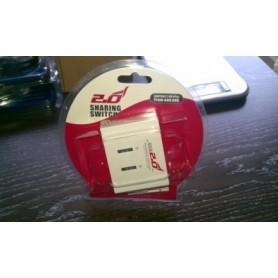 NedRo, USB A naar 2x USB B Sharing Switch YPU502, Ports en Hubs, YPU502, EtronixCenter.com