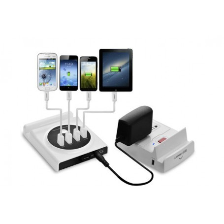 UGREEN - Multifunction USB Charging Station with OTG & USB Hub UG124 - Porturi si huburi - UG124 www.NedRo.ro