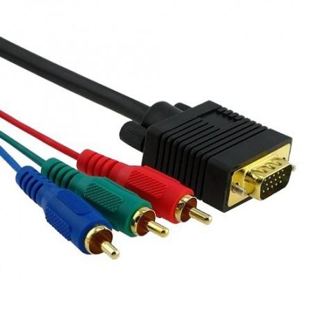 NedRo - Cablu RGB VGA Tata la Tata YPC207 - Cabluri VGA - YPC207 www.NedRo.ro
