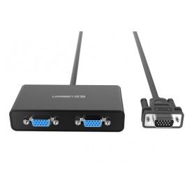 UGREEN - VGA Male to 2 Female Video Splitter Cable UG139 - VGA adapters - UG139 www.NedRo.nl