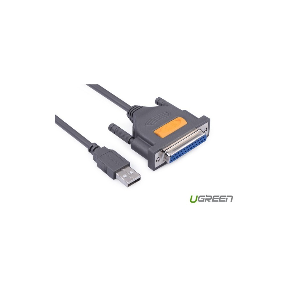 UGREEN - USB TO DB25 Parallel Printer Cable UG143 - Cabluri imprimantă - UG143 www.NedRo.ro