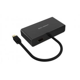 UGREEN - 3in1 Mini DisplayPort DP to HDMI/VGA/DVI converter - HDMI adapters - UG151 www.NedRo.nl