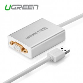 UGREEN, USB 2.0 to VGA Multi-Display Adapter High Premium UG157, DVI and DisplayPort adapters, UG157, EtronixCenter.com