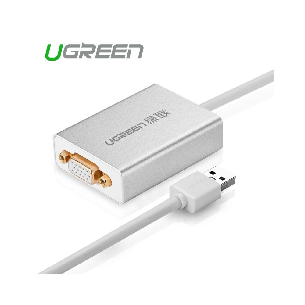 UGREEN - USB 2.0 to VGA Multi-Display Adapter High Premium UG157 - DVI si DisplayPort adaptoare - UG157 www.NedRo.ro