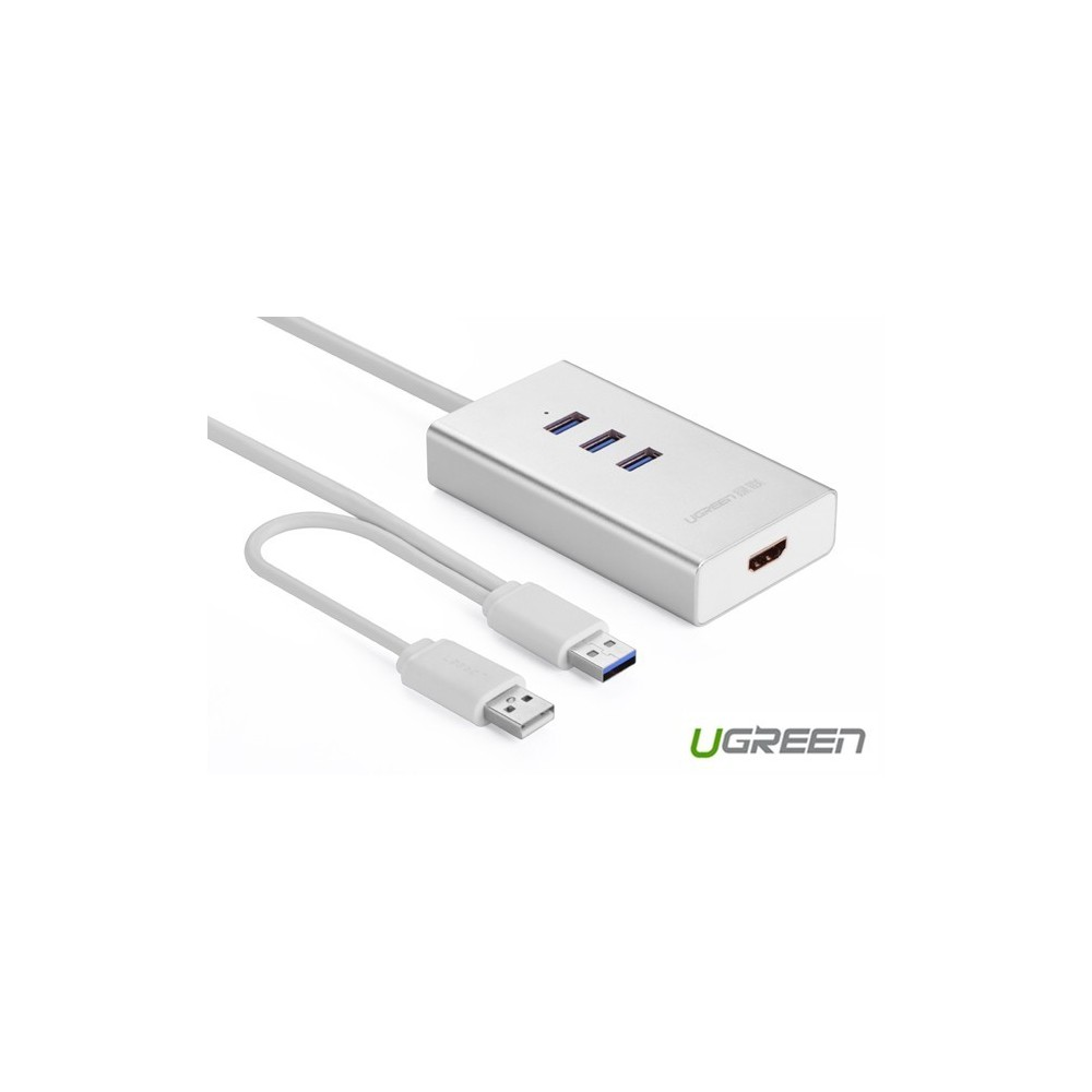 USB 3.0 to HDMI +3 port USB 3.0 Multi-Display Adapter UG160