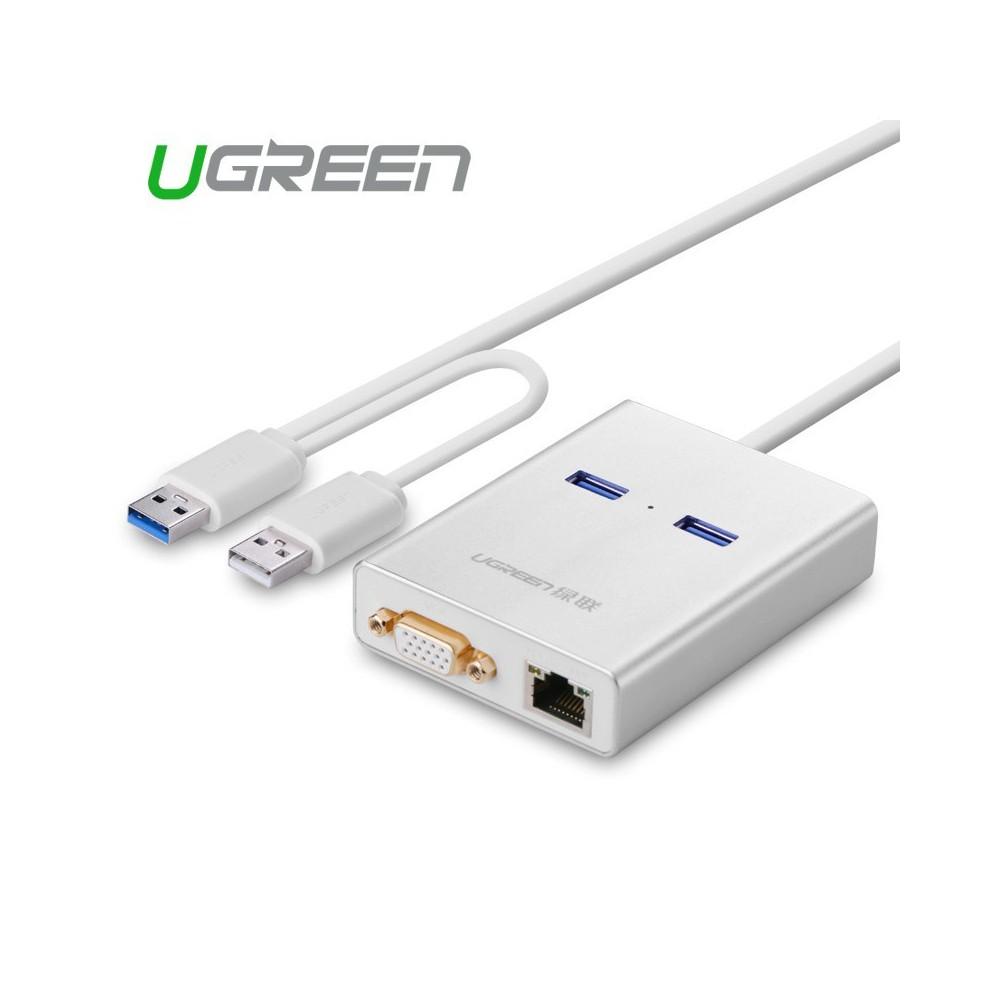 USB 3.0 Multi-Display Graphic Card 1000 Gigabit Ethernet UG161