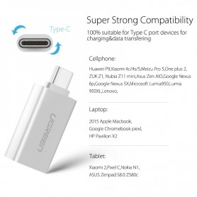 UGREEN - USB 3.1 Type-C SUPERSPEED M - USB 3.0 Type F adapter UG164 - USB adapters - UG164
