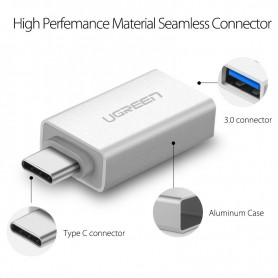UGREEN, USB 3.1 Type-C SUPERSPEED M - USB 3.0 Type F adapter UG164, Adaptoare USB , UG164, EtronixCenter.com