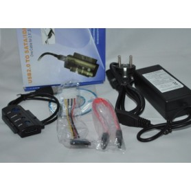 NedRo - USB naar IDE en SATA met OTB Functie YPU121 - SATA en ATA adapters - YPU121 www.NedRo.nl