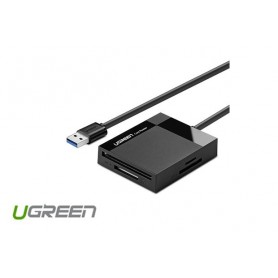 UGREEN - USB 3.0 All-in-One Card Reader SD TF CF MS Card UG215 - SD and USB Memory - UG215