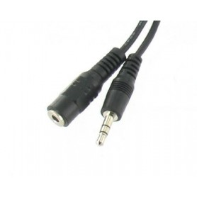 Unbranded - Audio Jack 3.5mm extension - Audio cables - YAK104-CB www.NedRo.us