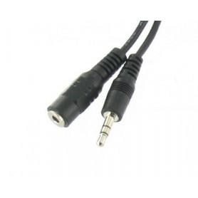 Unbranded - Audio Jack 3.5mm verlengkabel - Audio kabels - YAK104-CB www.NedRo.nl