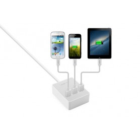 UGREEN, 3 Port USB Charging Station Hub White UG216, Ports en Hubs, UG216, EtronixCenter.com