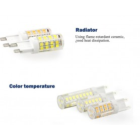 NedRo - G9 5W Cold White SMD2835 LED Lamp - Not dimmable - G9 LED - AL412